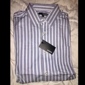 Murano Blue Stripes Shirt - new with tags